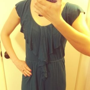 Old Navy Dark Blue Summer Dress XSMALL